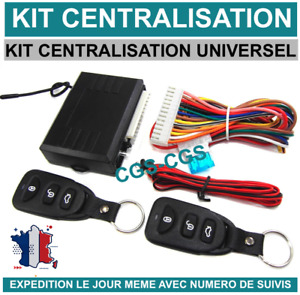 Kit centralisation universelle multi marques