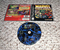 Marvel Super Heroes (PlayStation 1 PS1) Complete Tested