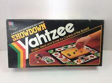 Vintage 1991 Milton Bradley Showdown Yahtzee Complete