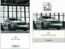 2014 Chrysler 200 User Guide plus Owners Manual DVD