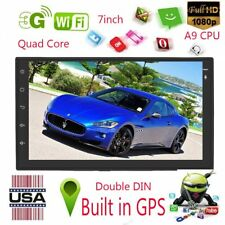 HD 7inch Double 2 Din Android 7.1 Bluetooth Car GPS Mp5 Navigator FM Radio Mf