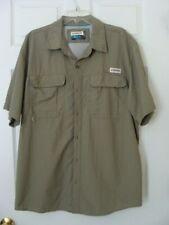 Magellan Outdoors Fish Gear Green Men'S Vented Mag Wick Fishing Shirt - Xl - Euc