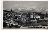 TRAUNSTEIN Bayern Gesamtansicht alte Ansichtskarte