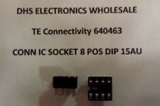 CONN IC SOCKET 8 POS DIP 15AU P/N 2-640463-4