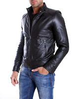 Giacca in di Vera Pelle Uomo Man Leather Jacket Veste Blouson Homme EMILIANY