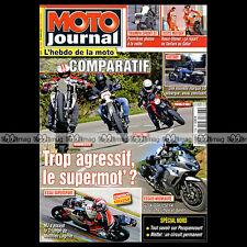 MOTO JOURNAL N°1898 KTM 690 SMC YAMAHA XTX 650 VICTORY HAMMER HUSABERG 570 FS