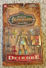 Rare Mystic Knights of Tir Na Nog Series 1 Deirdre With Bonus Castle Popup MOC