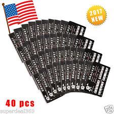 "40 Kits USA Dental Orthodontic Metal Bracket Mini Roth 022""Slot 3-4-5 Hooks B2"