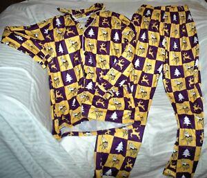 Minnesota Vikings Christmas pajamas MEN'S small YOUTH XL New with tags FOCO