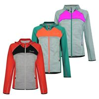 Dare2b Women's Courtesy II Stretch Hoodie Hooded Gym Soft shell Jacket RRP £50