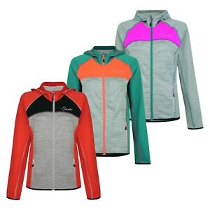 Womens Dare2b Courtesy Stretch Water Repellent Hooded Softshell Jacket RRP £50