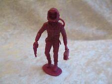 Vintage Marx MPC Purple Plastic Astronaut/Space Man