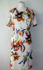 Gerry Weber Kleid Gr. 44 OVP 120€ Damenkleid Etuikleid Satinkleid Abendkleid