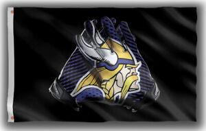 Minnesota Vikings Football Fan Memorable Gloves Flag 90x150cm 3x5ft best banner