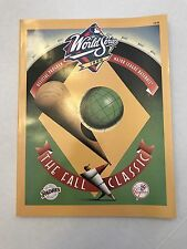 New York Yankees 1998 World Series Program Excellent/Mint condition See Pictures