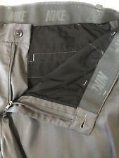 New ListingNike Golf 34 x 32 Gray Dri-Fit Flat Front Vented Cuff Dress Pants