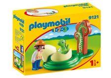 Playmobil 9121 123 Girl with Dino Egg