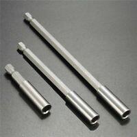 Magnet Bithalter Set 60mm, 100mm & 150mm lang magnetischer Bit Halter 1/4 Zoll