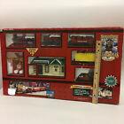 Vintage North Pole Express Motorized Train Christmas Village Decoration Musical