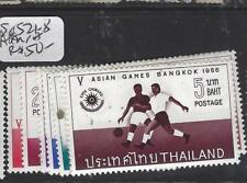THAILAND (P1912B)  ASIAN GAMES SC 521-8   MNH
