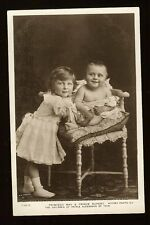 Princess May Prince Rupert Infant Real Photo Postcard Rotary Printed in England