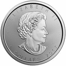 2017 $5 Silver Canadian Maple Leaf 1 oz Brilliant Uncirculated