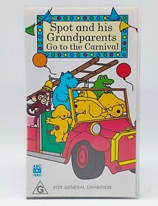 Spot and His Grandparents Go to the Carnival (Finding Spot) VHS Tape. Eric Carl.