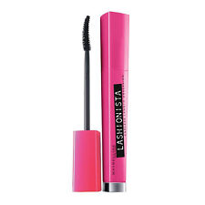 MAYBELLINE LASHIONISTA ENDLESS LENGTH MASCARA BLACK 01 NEW & SEALED