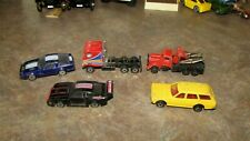 Vintage Lot 4 Diecast Cars from Large Collection- Zee,Zylmex,Datson,Tow Truck