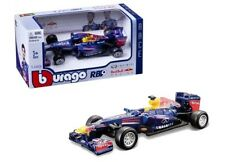 1:43 scale Bburago Model - Infiniti Red Bull RB9 F1 Car #2 Vettel & Webber