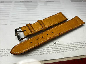 Bracelet Cuir  Vintage De Montre Omega Seamaster