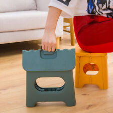 Portable Plastic Multi Purpose Folding Step Stool for Kids Adults Home Outdoor