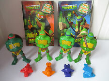 4x Vehicle Launcher 2007 McDonalds figures TMNT Books 2xPBs 2in1 Excellent Cond.