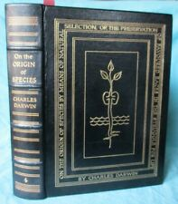 Origin of Species by Charles Darwin; Easton Press, Leather