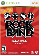 Rock Band Track Pack vol. 2 Xbox 360 New Xbox 360