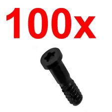 100x Quantity Lot Pentalobe Bottom Screw Screws for iPhone 5S Black USA Seller