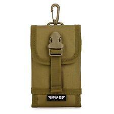 "Tactical Phone Pouch Bag 5"" 6"" MOLLE Gear Waterproof WaistBelt Pack iPhone6/6S/7"