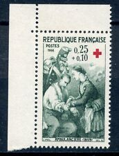 STAMP / TIMBRE FRANCE NEUF LUXE ** N° 1508a ** AMBULANCIERE / ISSUS DE CARNET