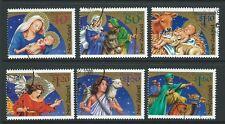 NEW ZEALAND 2000 CHRISTMAS SET OF 6 FINE USED