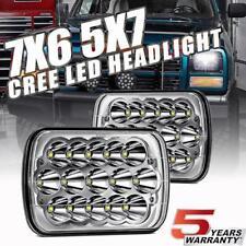 For GMC Savana 1500 2500 3500 7X6'' 150W CREE LED Headlights Hi/Lo Beam DRL DOT