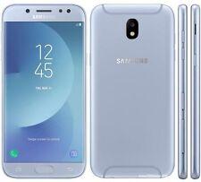 SAMSUNG Galaxy J5 2017 SM-J530F BLU SILVER BRAND +PELLICOLA DI VETRO+FODERO