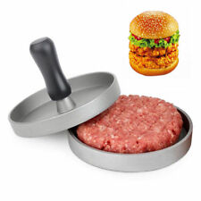 Non-Stick Hamburger Patty Press Aluminum Alloy Grill Burger Meat Maker Mold
