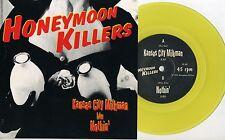 """Honeymoon Killers (USA) - Kansas City Milkman 7"""" AUSSIE YELLOW VINYL Jon Spencer"""