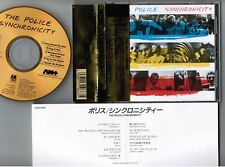 THE POLICE Synchronicity JAPAN 24k GOLD CD D33Y3405 w/OBI+INSERT Sting Free S&H