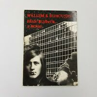 BLADE RUNNER: A MOVIE By William S. Burroughs - 1990 3rd Printing