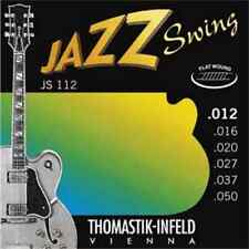 THOMASTIK Jazz Swing Flat Wound Guitar Strings 12-50 *NEW* JS112