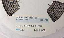 x20pcs **NEW** MURATA CDBCB455KCAX25-R0, Ceramic Discriminator, 455kHz, SMD