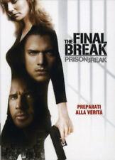 PRISON BREAK FINAL BREAK DVD Wentworth Miller Dominic Purcell UK Release New R2