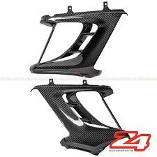 2011-2014 Diavel Side Upper Mid Radiator Cover Panel Fairing Cowl Carbon Fiber