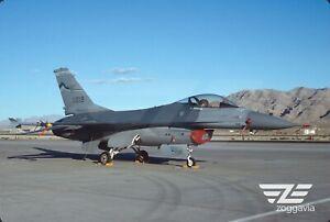 Original slide 82-1019 Lockheed F-16 U.S. Air Force, USAF, 1993